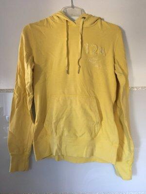 Hoodie von H&M in gelb Größe S