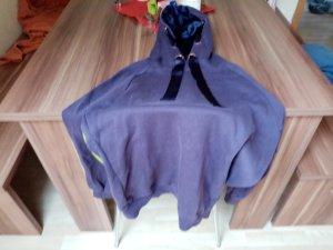 Maglione lungo viola scuro Cotone