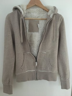 Hoodiejacke mit Fury Fleece