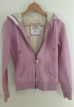 Hoodiejacken mit soft fury fleece