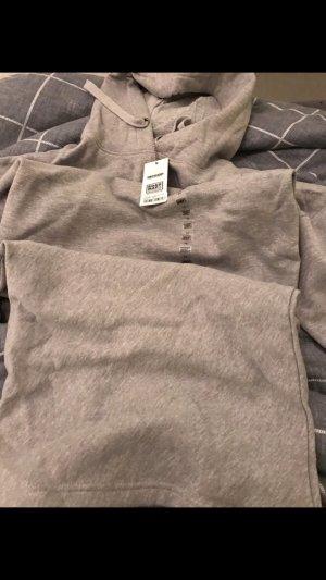 Sweaterjurk lichtgrijs