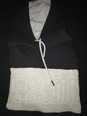 Pull à capuche gris-noir