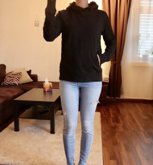 Hoody Pullover schwarz Gr. S H&M