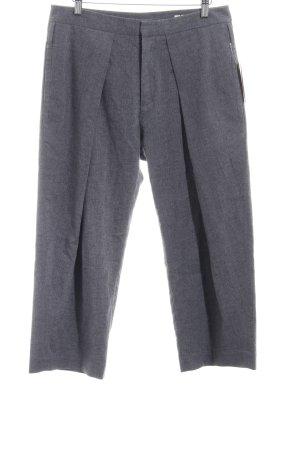 HOPE Pantalon 7/8 bleuet moucheté style simple
