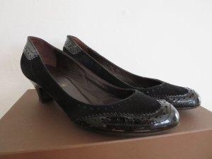 Zapatos Informales negro Cuero