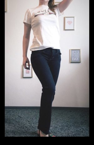 Hollister Drainpipe Trousers dark blue