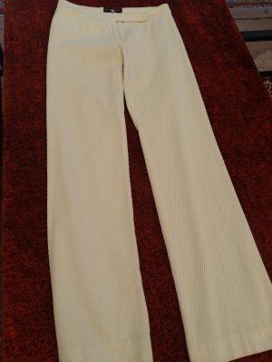 Ann Demeulemeester Pantalon en jersey blanc