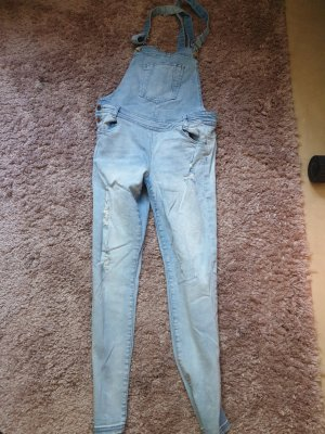 Concept Reserved Pantalon 3/4 bleu clair
