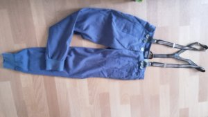Jeans carotte bleu