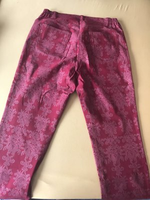 Alfredo Pauly Pleated Trousers dark red viscose