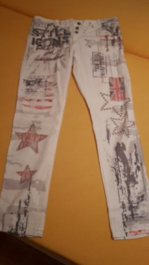Made in Italy Pantalon blanc