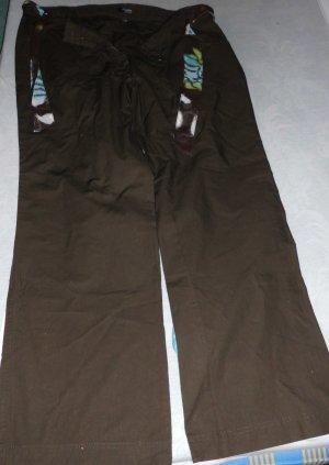 Pantalon en jersey brun