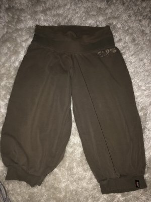 Esprit Pantalone a 3/4 verde scuro