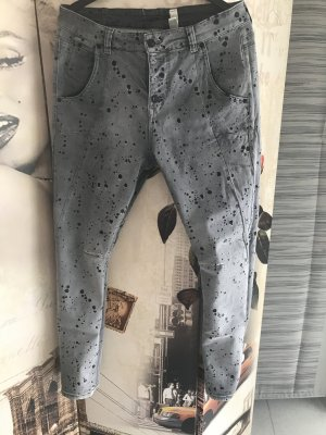 Mac Spijkerbroek grijs-zwart