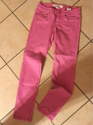 HM Low Rise Jeans light pink