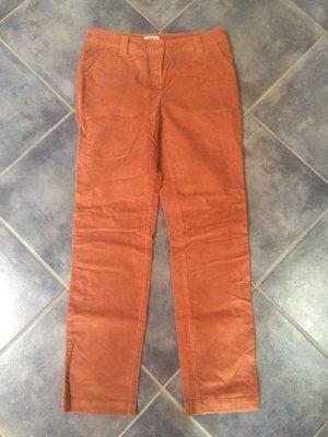 FlashLights Pantalone di velluto a coste salmone