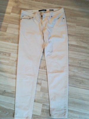 Pantalone cinque tasche bianco