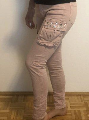 Made in Italy Pantalon de sport rosé