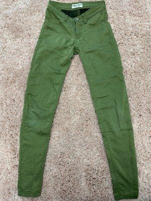 Tally Weijl Low-Rise Trousers khaki