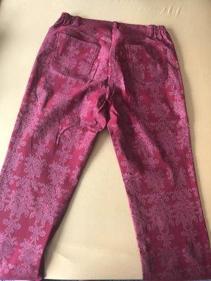 Alfredo Pauly Pleated Trousers dark red