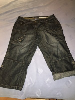 Cecil 3/4 Length Jeans dark blue