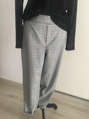 Only Pantalón de cintura alta gris-negro