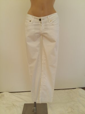 Burberry London pantalón de cintura baja blanco