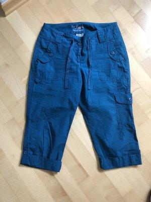 Street One Pantalon 3/4 turquoise-bleu