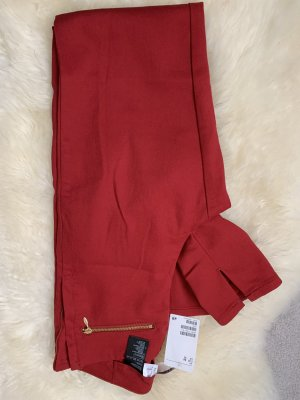 Hennes Collection by H&M Drainpipe Trousers red