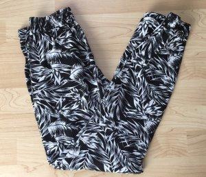 Tally Weijl Pantalon en jersey noir-blanc