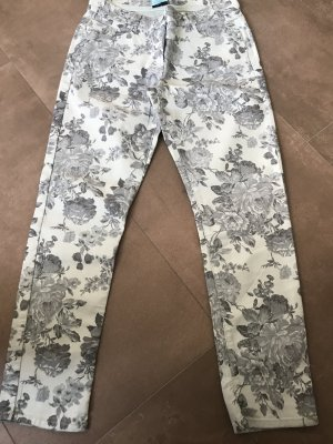 BC Collection Pantalone blu pallido-grigio ardesia