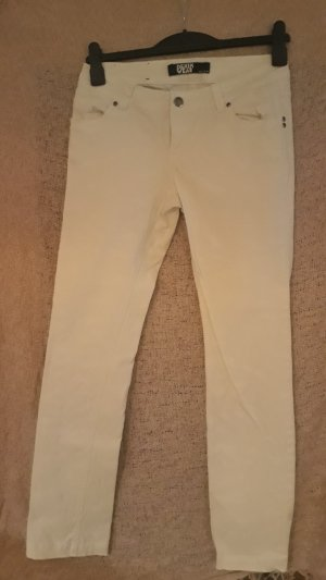 Low-Rise Trousers white