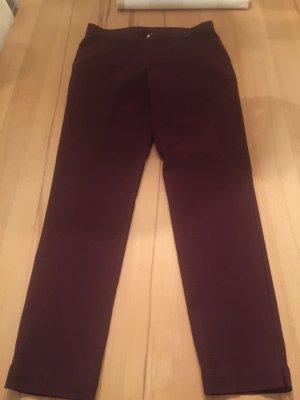 Pantalone fitness bordeaux