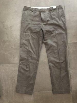 Promod Pantalón tobillero gris verdoso