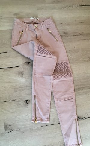 Tally Weijl Low-Rise Trousers pink-gold-colored