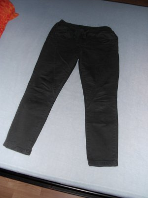 Aust Five-Pocket Trousers dark grey cotton