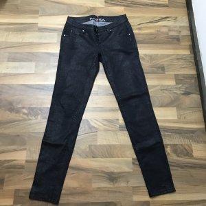 Buena Vista Stretch Trousers black-silver-colored