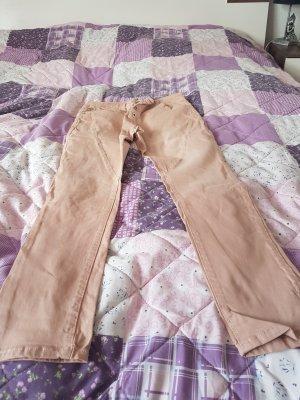 Pantalone color oro rosa