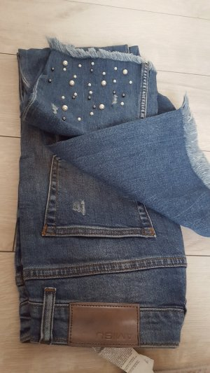New York & Company Boyfriendbroek korenblauw