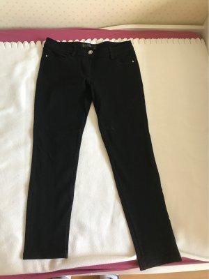Jeans a 7/8 nero