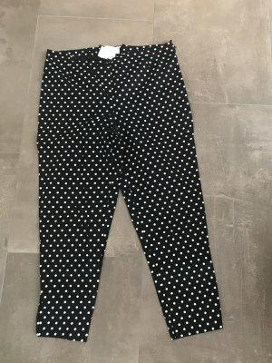 Amy Vermont Pantalon à pinces noir-blanc