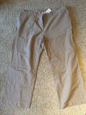 b.p.c. Bonprix Collection Pantalón tipo suéter beige-marrón claro