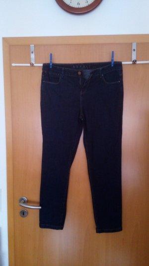esprit collection Drainpipe Trousers dark blue