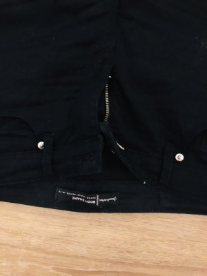 Stradivarius Low-Rise Trousers black