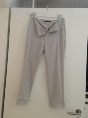 Zara Woman Pleated Trousers grey