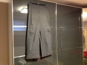 Unger Trousers grey linen