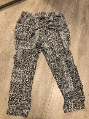 Witchery Pantalon large blanc-noir