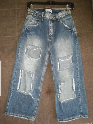 Luxury denim Pantalone a 3/4 blu