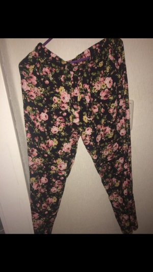 Pantalon large multicolore