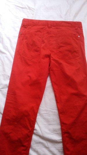 Pantalone di lino rosso